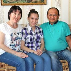 Семья Вайсиловых из Нязепетровского района