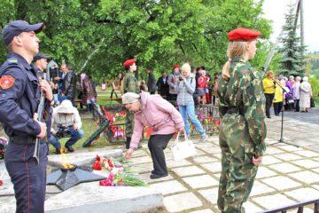 В Нязепетровске прошел траурный митинг