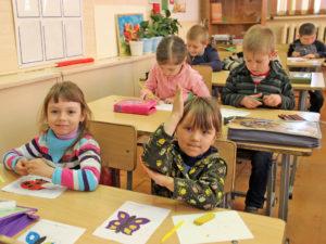 Самые маленькие жители Нязепетровска отправились в школу первоклассника
