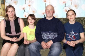 Семья Горловых из Нязепетровского района