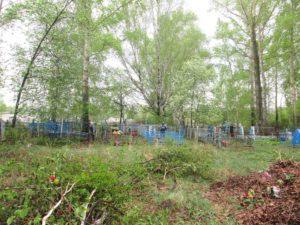 На кладбище в пос. Беляево Нязепетровского района пройдет субботник