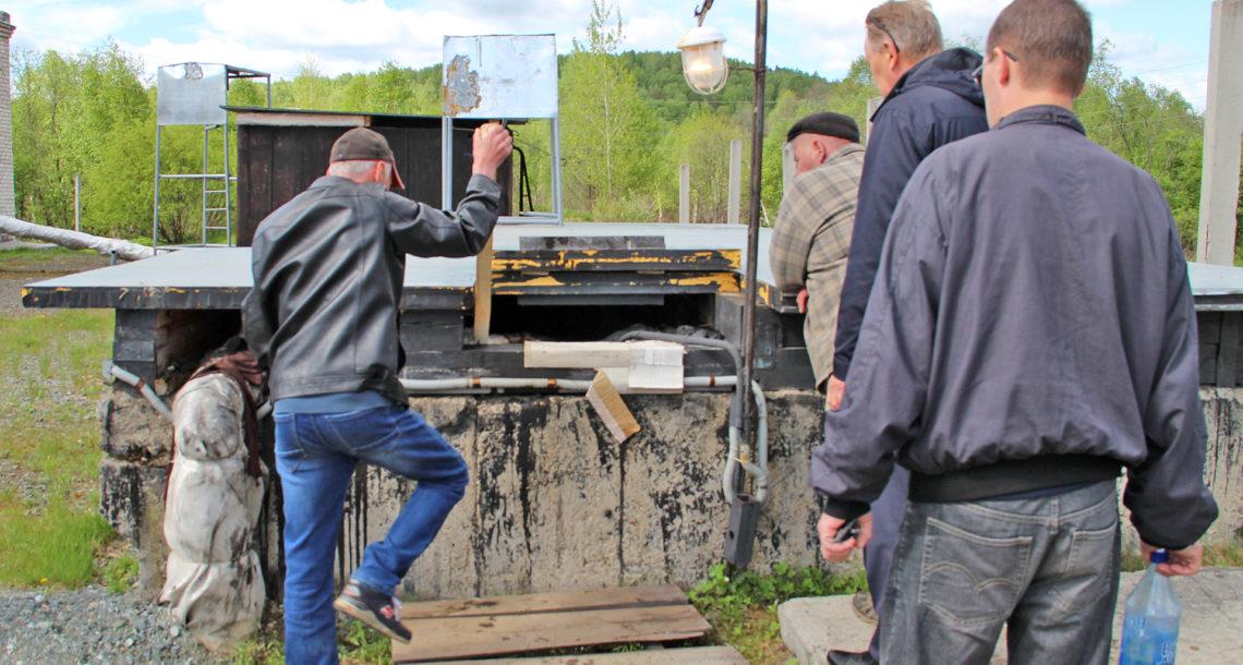 Очистные сооружения железнодорожного узла в Нязепетровске