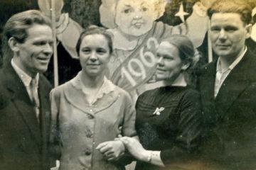 Семьи Беспаловых и Поломских из Нязепетровского района