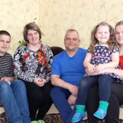 Семья Семякиных из Нязепетровска