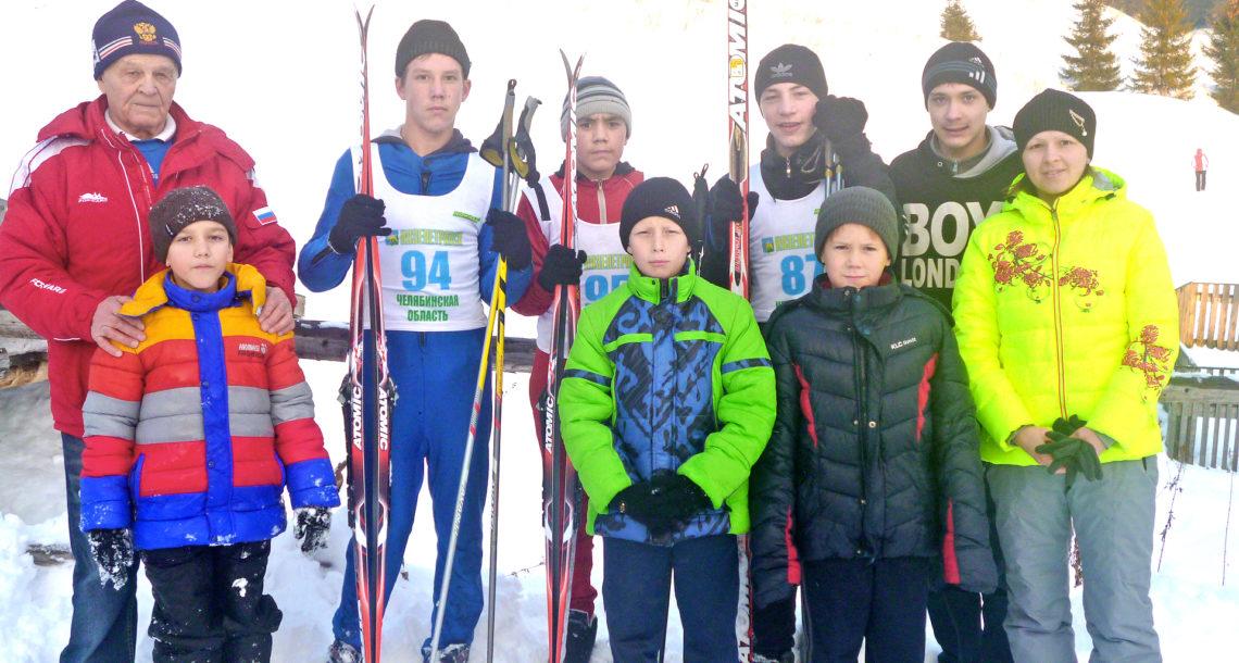 Н.И. Чебыкин, тренер из Нязепетровска