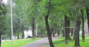Детский парк в Нязепетровске