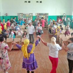Встреча шуранских башкир в д. Аптрякова Нязепетровского района