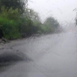 В прошлый четверг на Нязепетровск обрушился сильный ливень