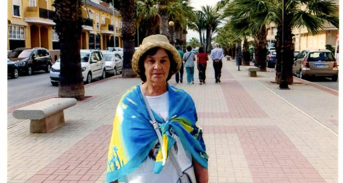 Р.А. Жильцова из Нязепетровска в Испании