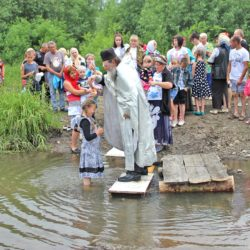 Крещение в д. Ситцева Нязепетровского района