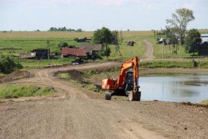 Ремонт дороги в Нязепетровском районе