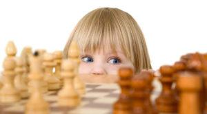 В с. Ункурда Нязепетровского района малыши играют в шахматы