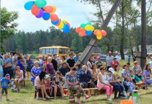 Встреча земляков в поселке Сказ Нязепетровского района