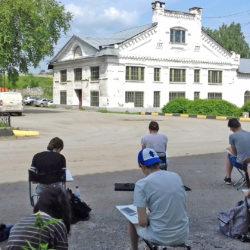 Студенты из Челябинска прошли практику в Нязепетровске