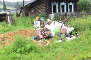 В Нязепетровске жители устраивают свалки на улицах