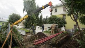 В Нязепетровске ремонтируют теплотрассы