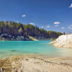Каолиновый карьер в Челябинской области