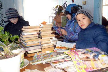 Передвижная библиотека в Нязепетровском районе