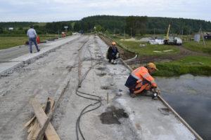 Ремонт моста в Нязепетровско