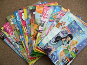 Детские журналы в библиотеке Нязепетровска