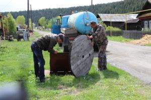 Врезка в водопровод в Нязепетровске