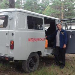 В д. Ситцева Нязепетровского района новая машина скорой