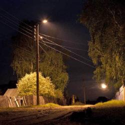 Светильники в д. Горшенина Нязепетровского района
