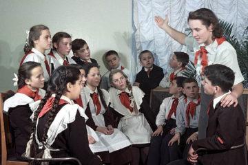 Сбор пионервожатых в Нязепетровске