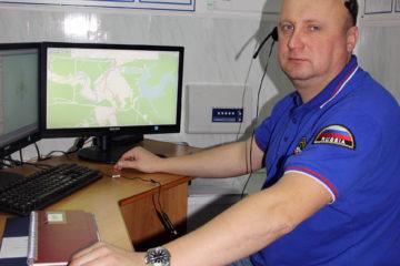 А.П. Беляев, оператор «Системы-112» в Нязепетровском районе
