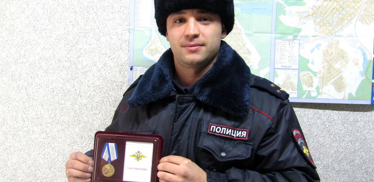 А.В. Баушев, участковый из Нязепетровска