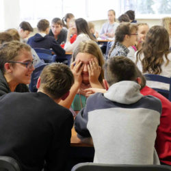 Интеллектуальная игра среди школьников Нязепетровска