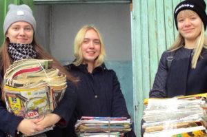 Нязепетровский район собирает макулатуру