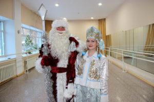 Дед Мороз и Снегурочка в Нязепетровске