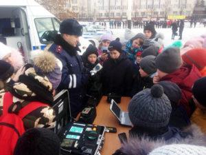 Юные инспекторы дорожного движения из Нязепетровска