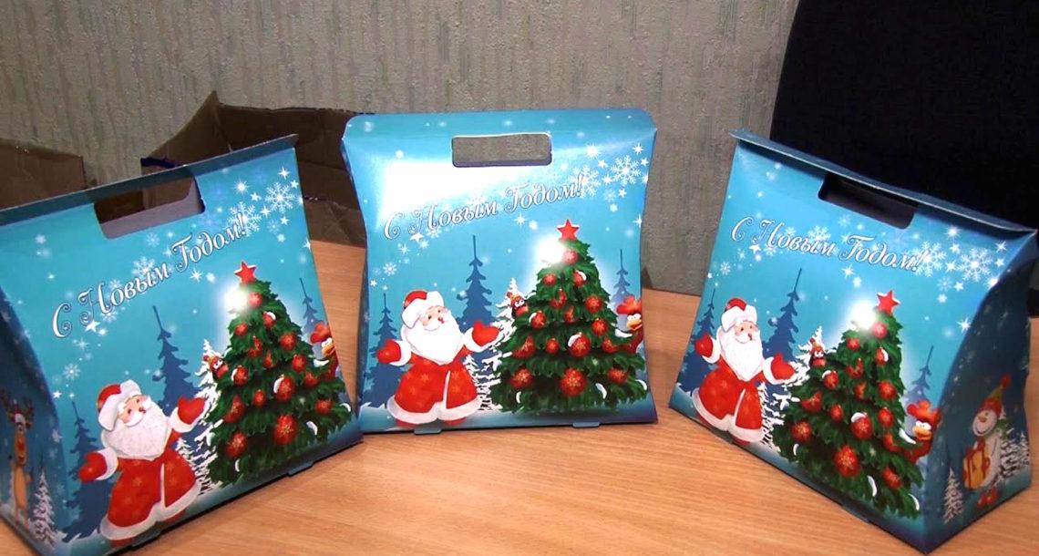Сладкие подарки для юных жителей Нязепетровска