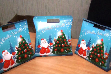 В Нязепетровске начали выдавать сладкие подарки