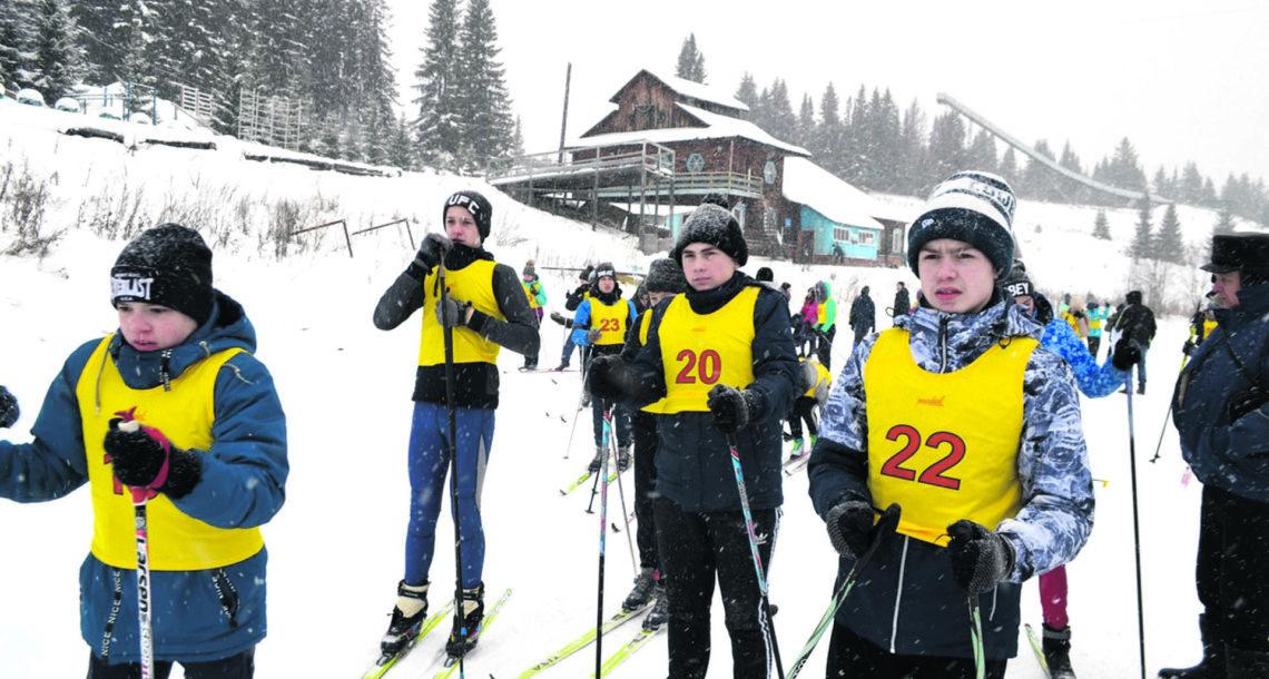 Лыжная гонка в Нязепетровске