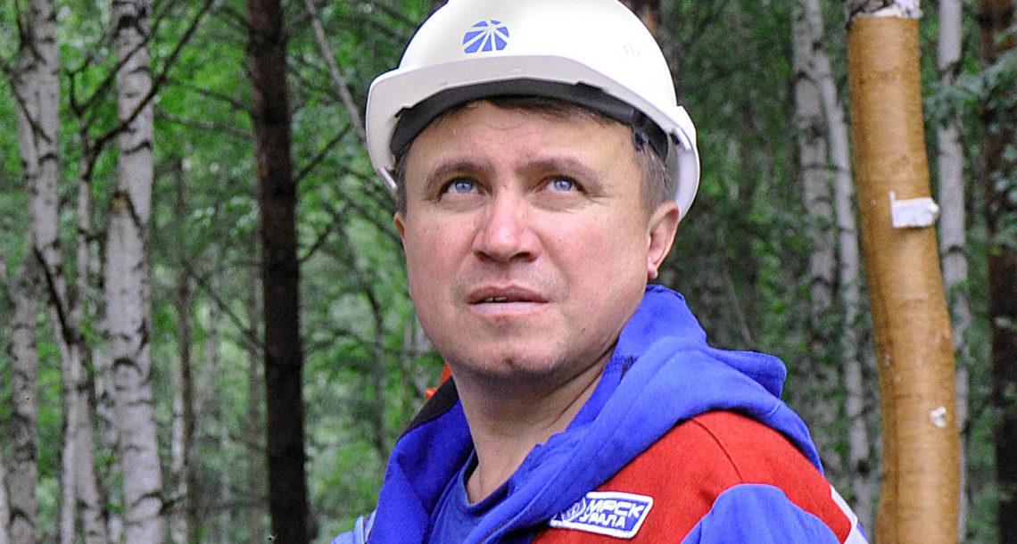 : А. В. Павлов, начальник Нязепетровского РЭС