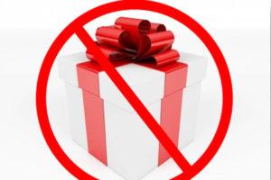 Южноуральцам напоминают о запрете на подарки