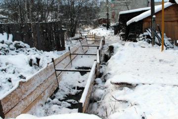 Река Табунка в Нязепетровске