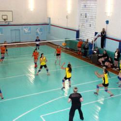 Женская волейбольная команда из Нязепетровска