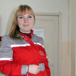 Е.С. Шлемина, фельдшер из Нязепетровска