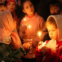 Рождественская служба в Нязепетровске