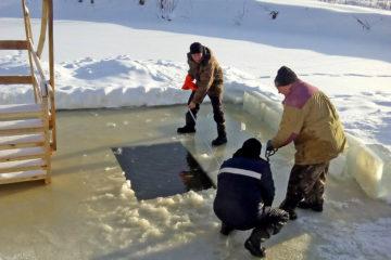 Крещенская купель в с. Ункурда Нязепетровского района