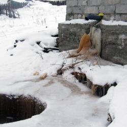 Недоделанная канализация в Нязепетровске