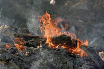 Пожар в с. Шемаха Нязепетровского района