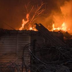 Неисправность печи или электропроводки может стать причиной пожара