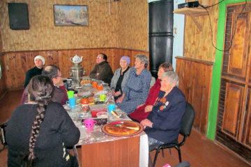 Вечер отдыха в д. Ташкинова Нязепетровского района