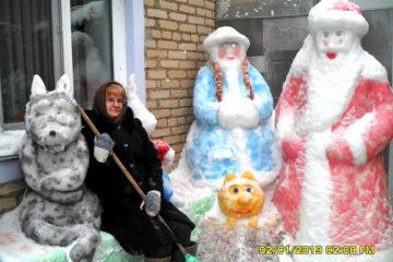 Скульптуры Н.Е. Широковой из с. Ункурда Нязепетровского района