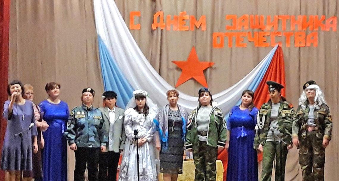 Концерт к 23 февраля в д. Ситцева Нязепетровского района